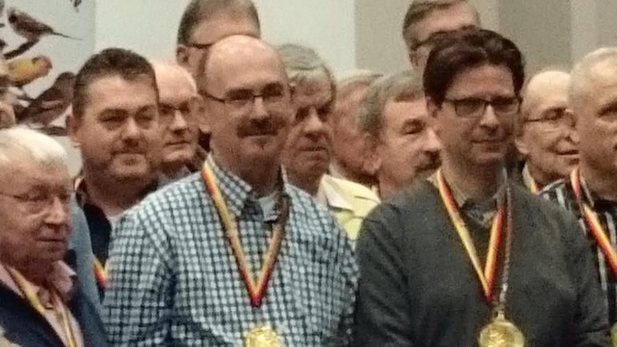 Siegerehrung Deutsche Meisterschaft 2015